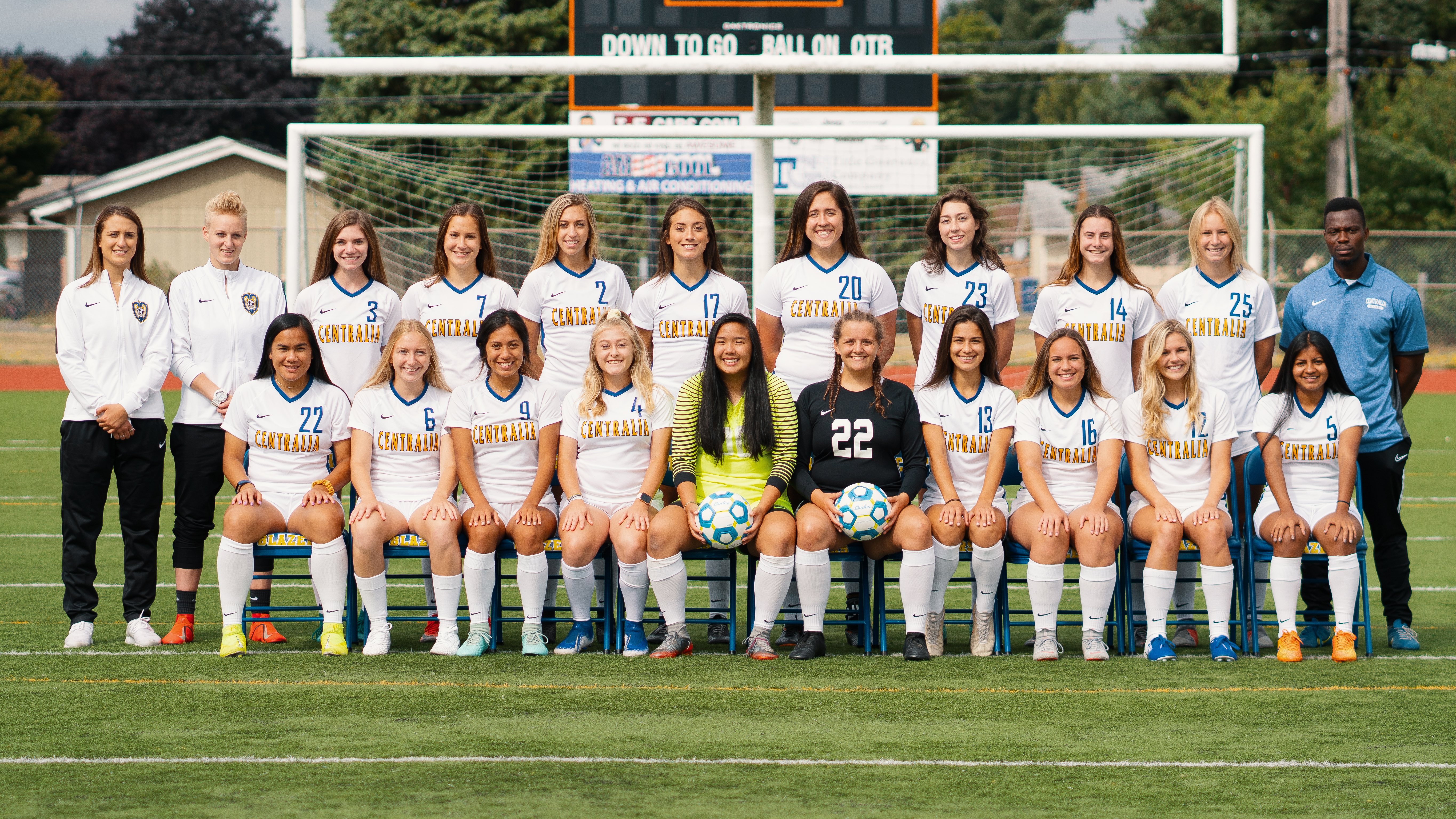 2019 Women's Soccer Team